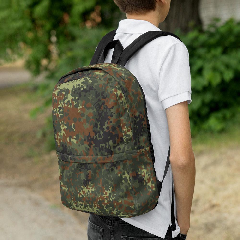 mockup 8581667f - German Flecktarn Camouflage Backpack