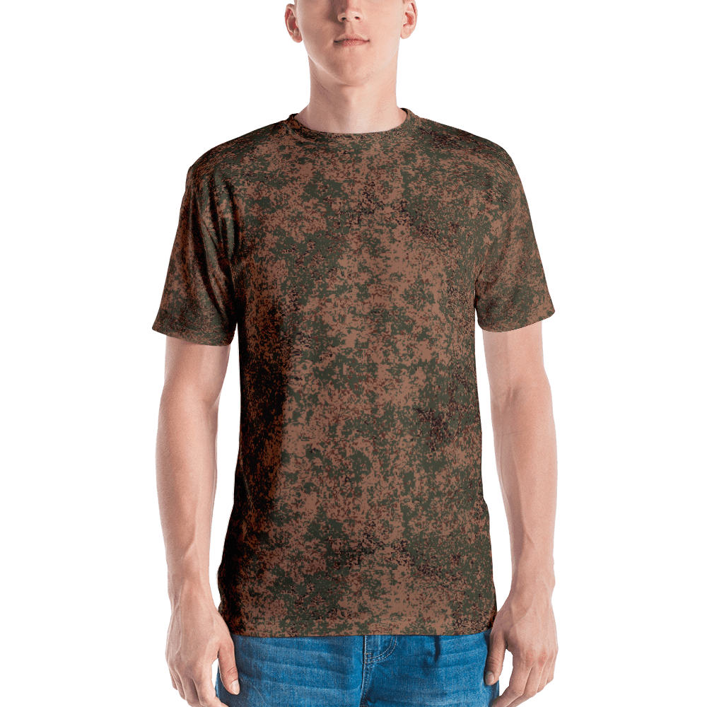 Russian 2008 EMR Digital Flora Airborne Camouflage Men's T-shirt