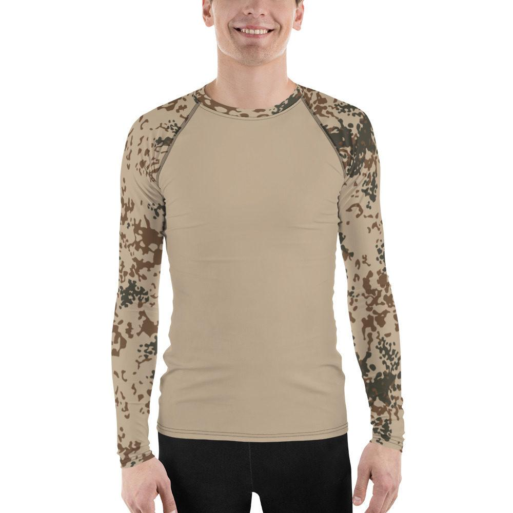 German Troppentarn UBAC's Style Men's Rash Guard MKII Sand