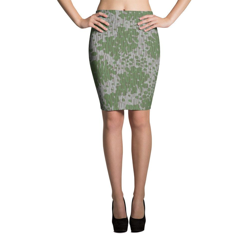 Bulgarian Frogskin 68 Pencil Skirt