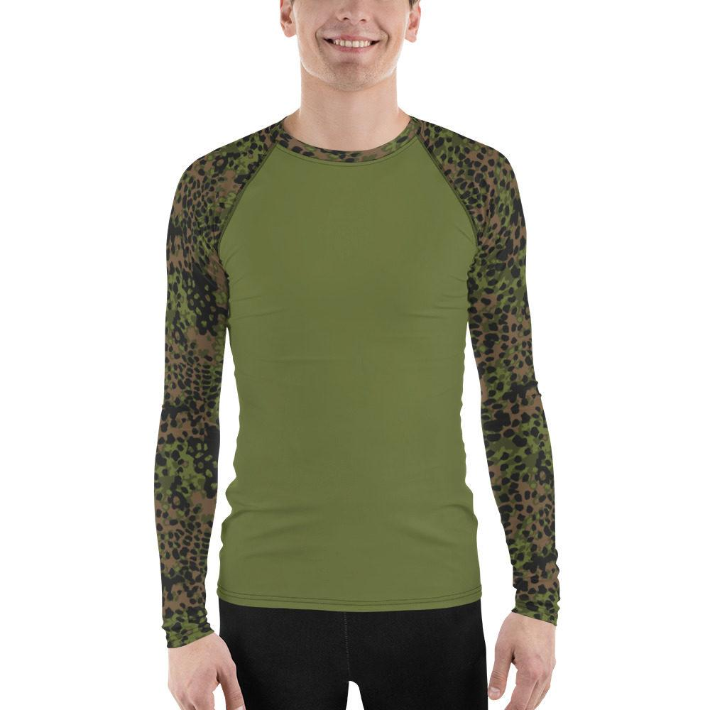 WWII Germany Platanenmuster Spring UBAC's Style Men's Rash Guard MKII Green