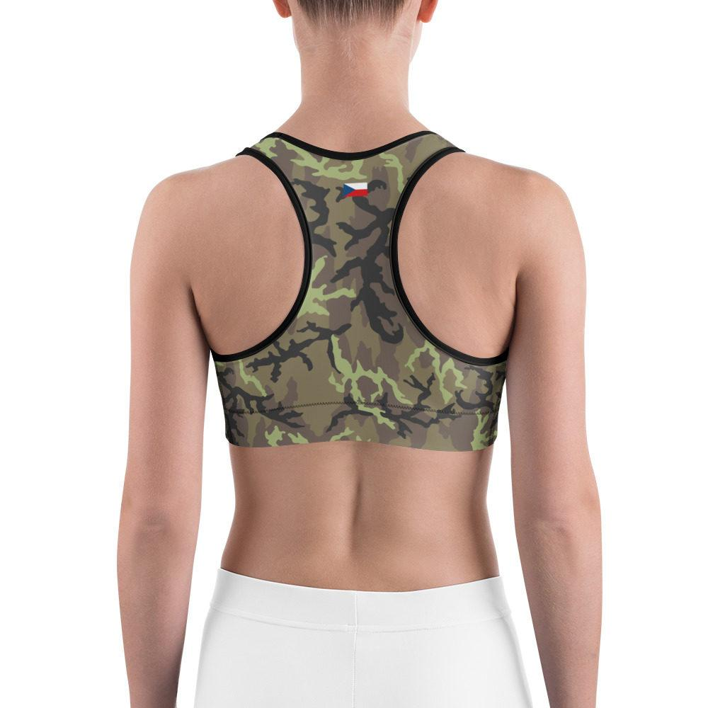 Czech Vz 95 woods Camouflage Sports bra