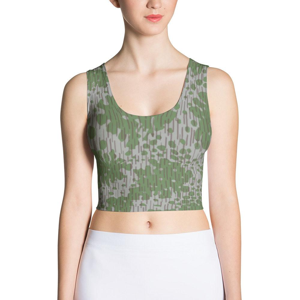 Bulgarian Frogskin 68 Cut & Sew Crop Top