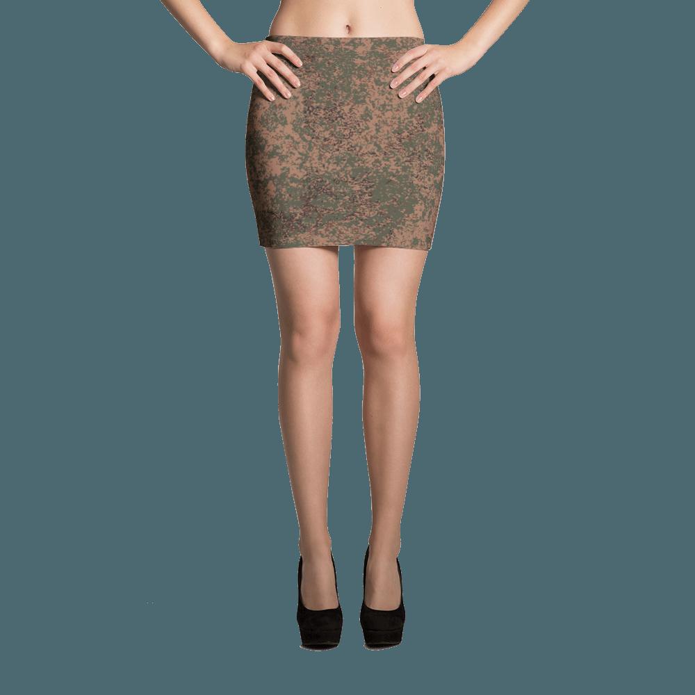 Russian 2008 EMR Digital Flora Airborne Mini Skirt
