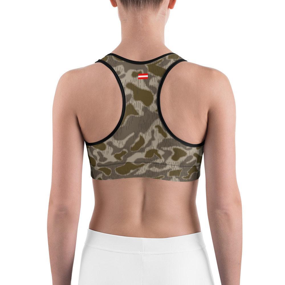 Austrian Steintarn Late type Camouflage Sports bra