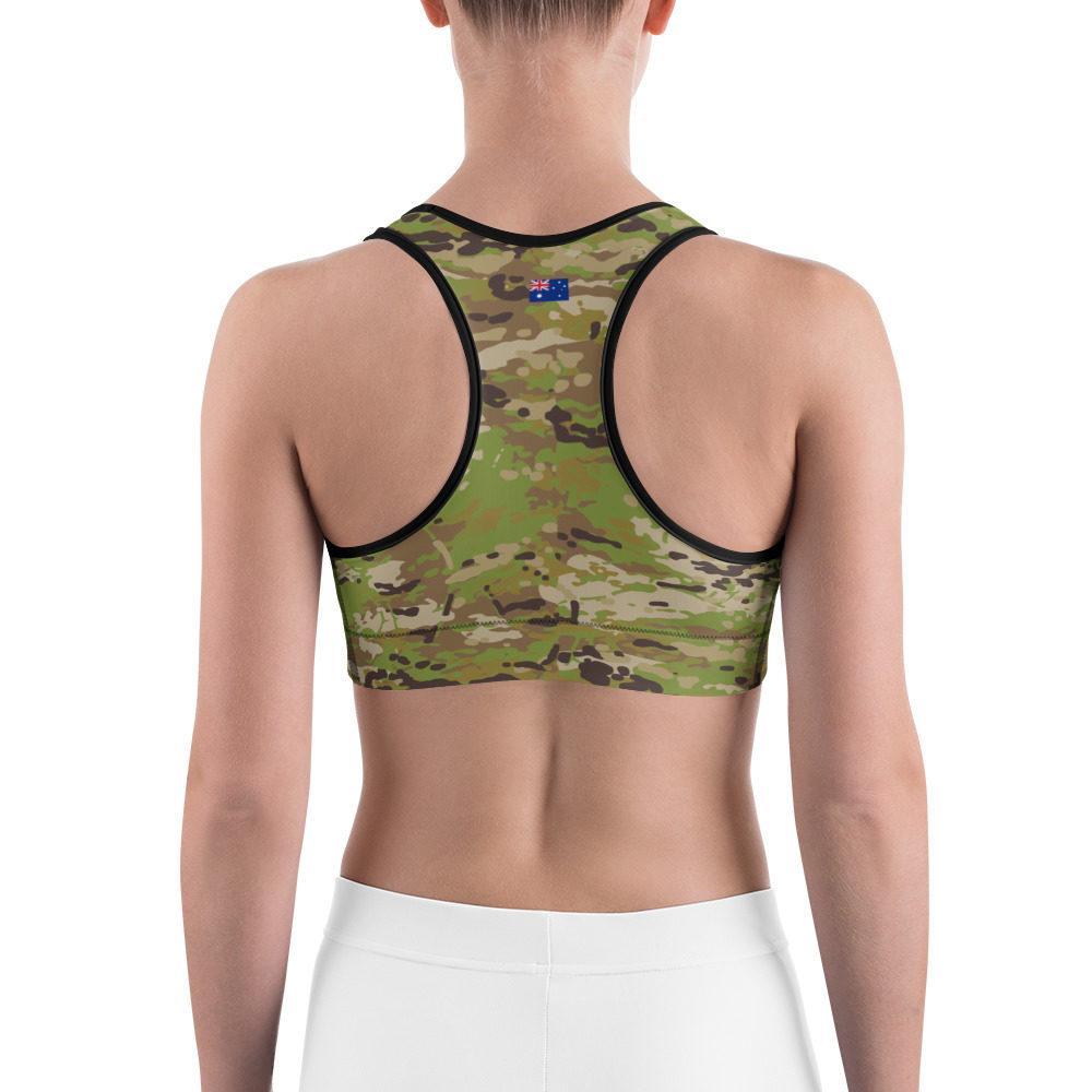 Australian AUSCAM AMC CamouflageSports bra