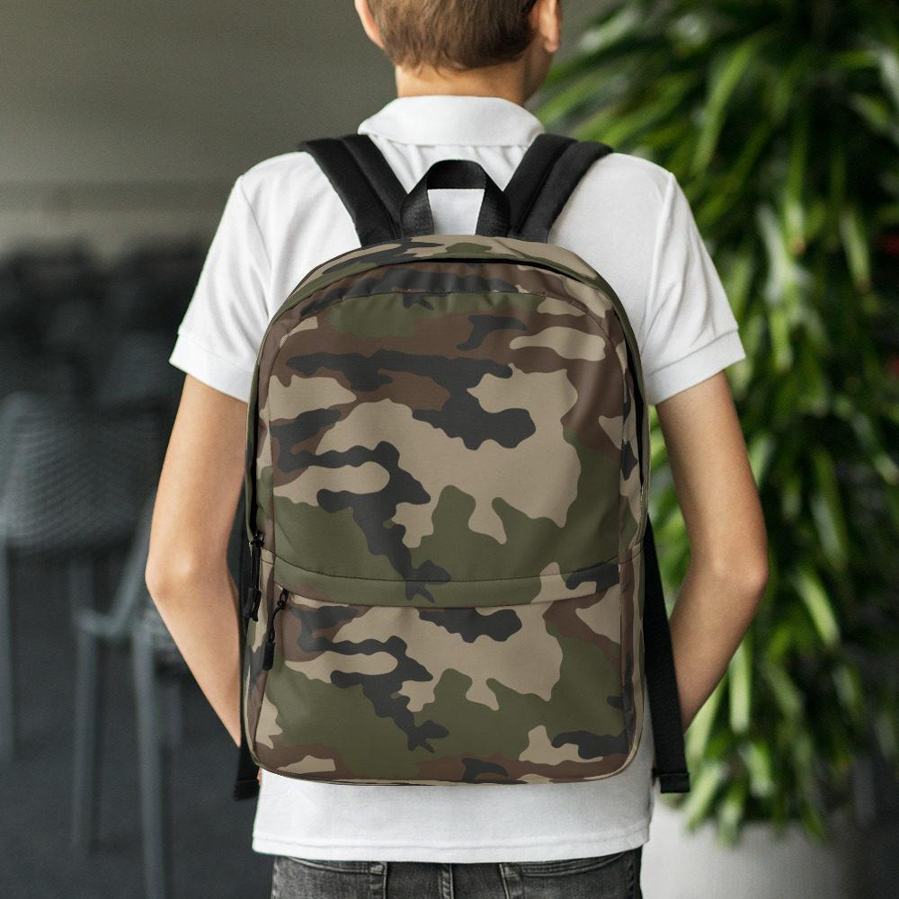 French CCE Centre Europe Camouflage Backpack