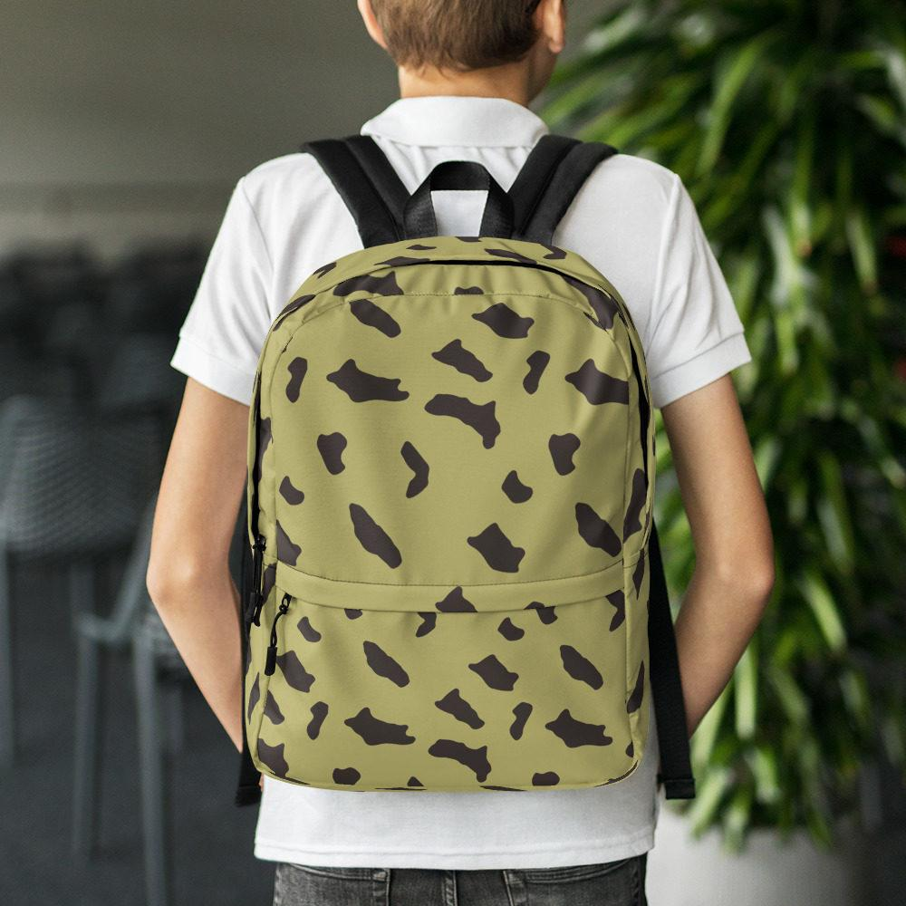Egyptian Rocks Pattern Camouflage Backpack