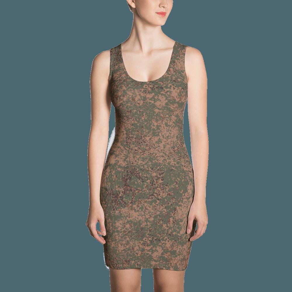 Russian 2008 EMR Digital Flora Airborne Cut & Sew Dress