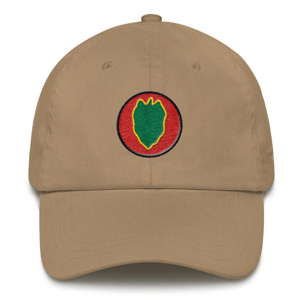 USA 24th Infantry Division Dad hat