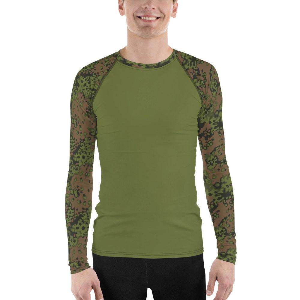 mockup ed59b079 - WWII Germany Eichenlaub Spring UBAC's Style Men's Rash Guard MKII Light Green