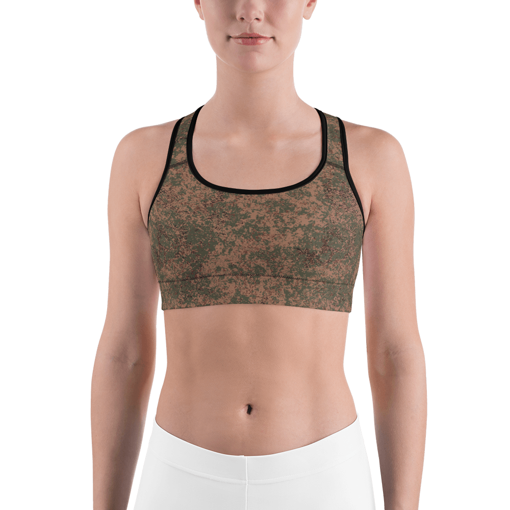 Russian 2008 EMR Digital Flora Airborne Sports bra
