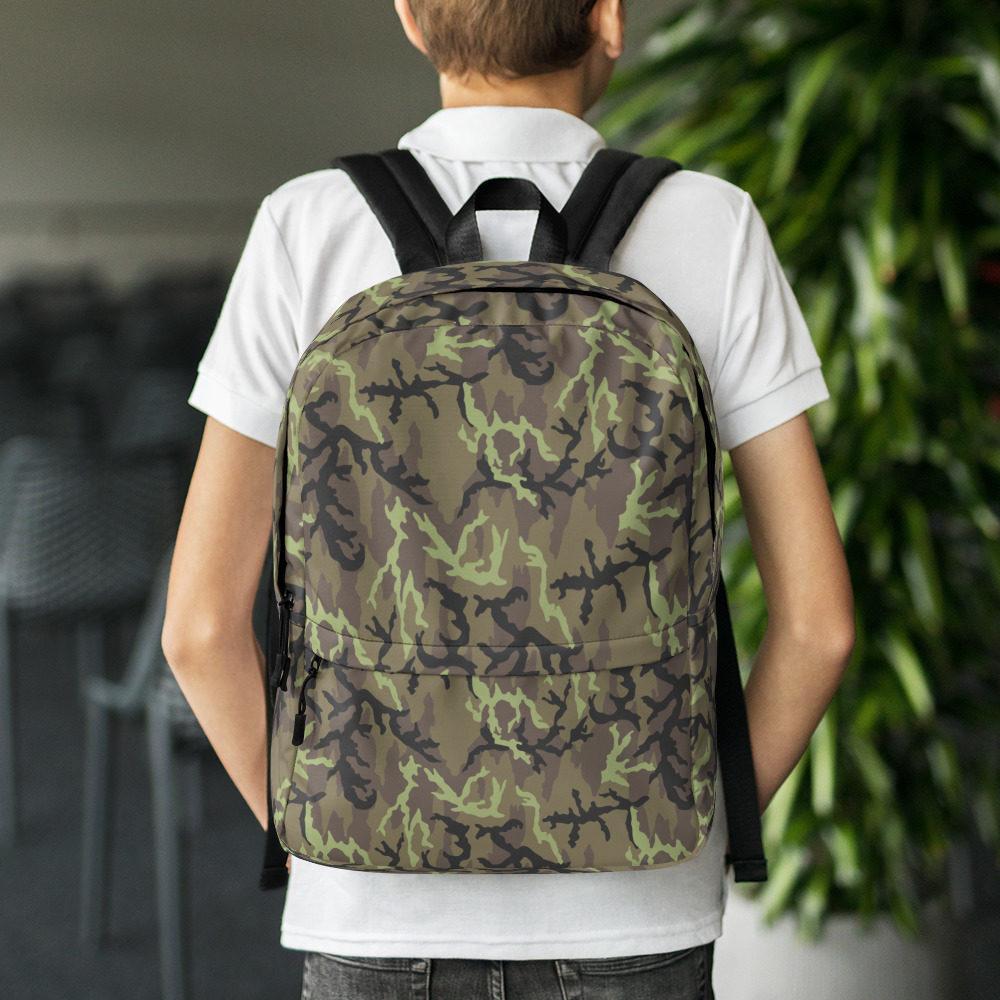 Czech Vz 95 woodland Camouflage Backpack