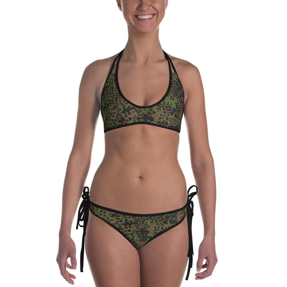 WWII Germany platanenmuster spring Camouflage Bikini