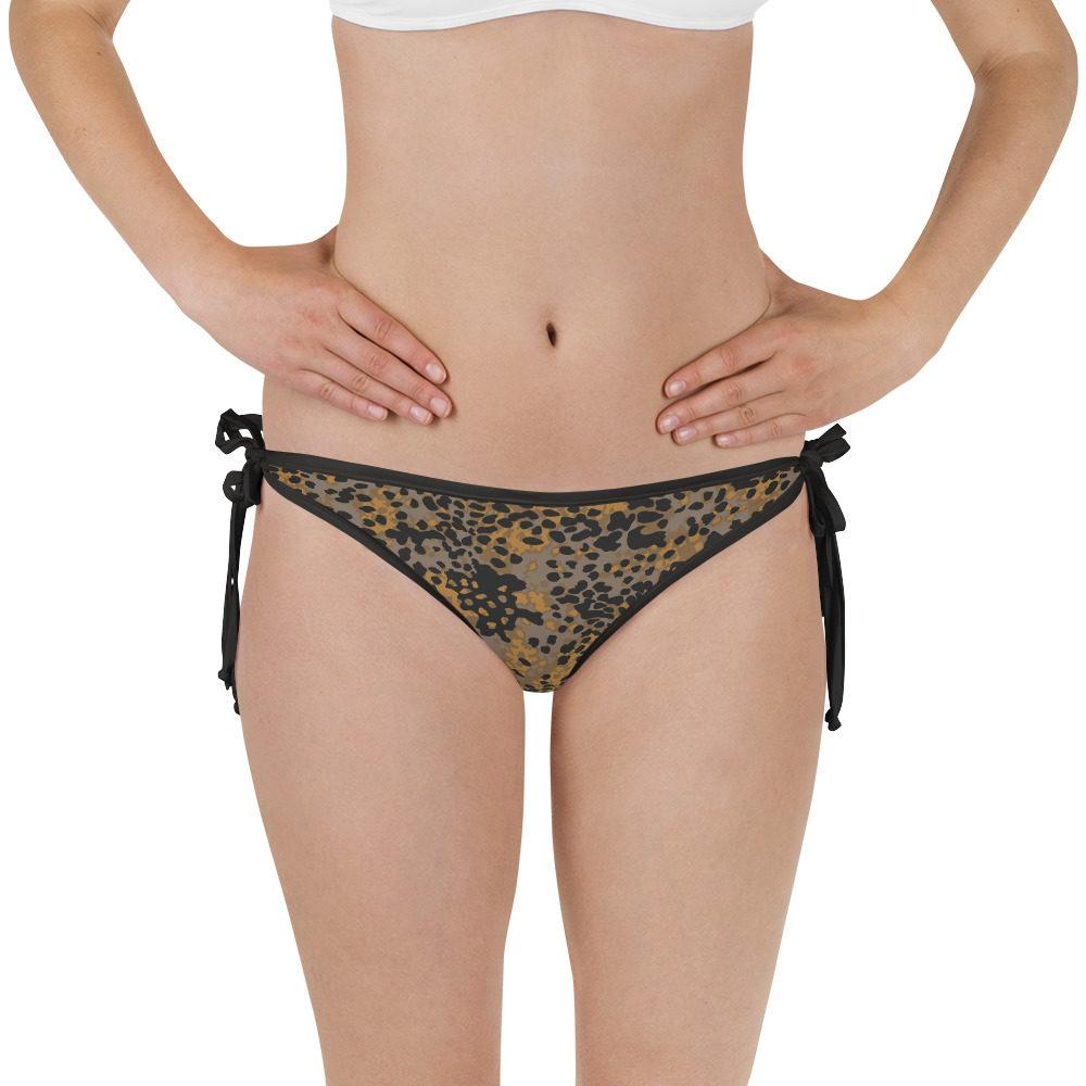 WWII Germany platanenmuster Reversible Camouflage Bikini Bottom
