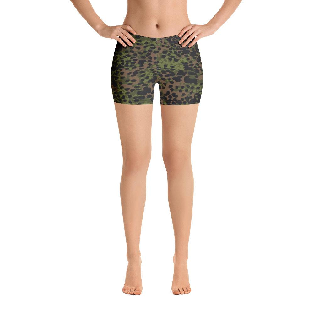 WWII Germany platanenmuster spring Camouflage Shorts