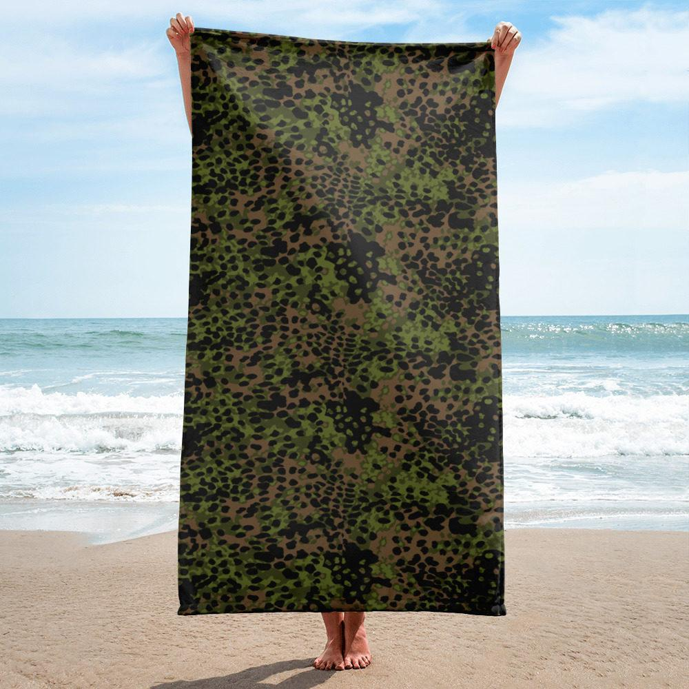WWII Germany platanenmuster spring Camouflage Towel