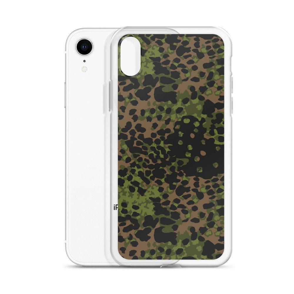 WWII Germany platanenmuster spring Camouflage iPhone Case