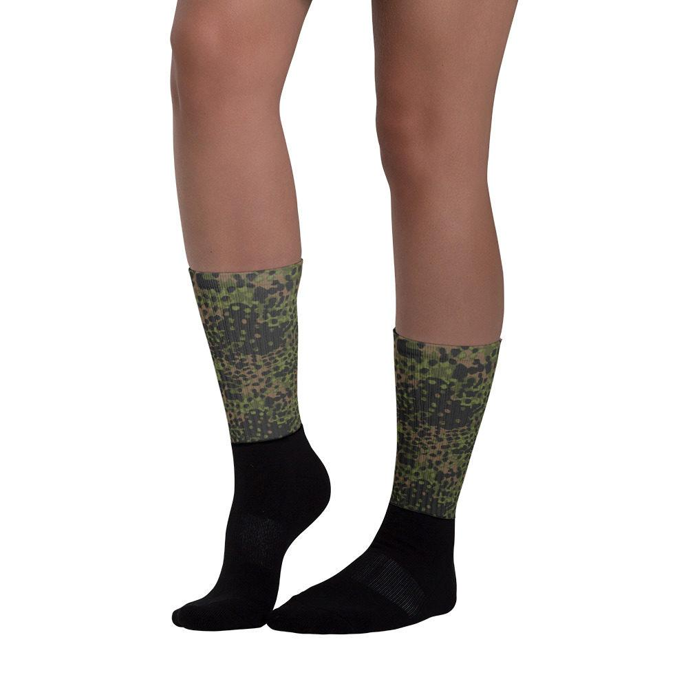WWII Germany platanenmuster spring Camouflage Socks