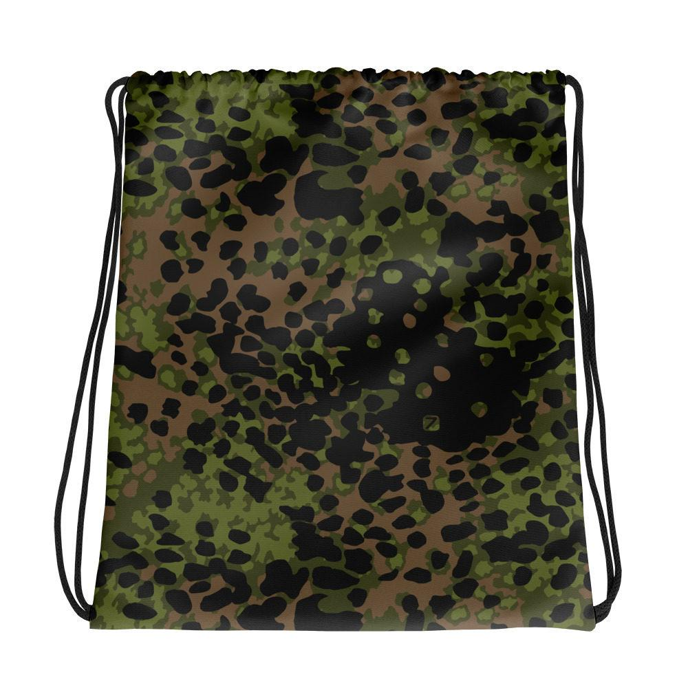 WWII Germany platanenmuster spring Camouflage Drawstring bag