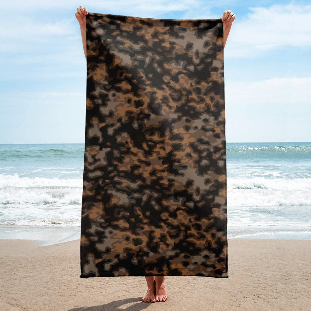 WWII Germany Rauchtarn fall Camouflage Towel