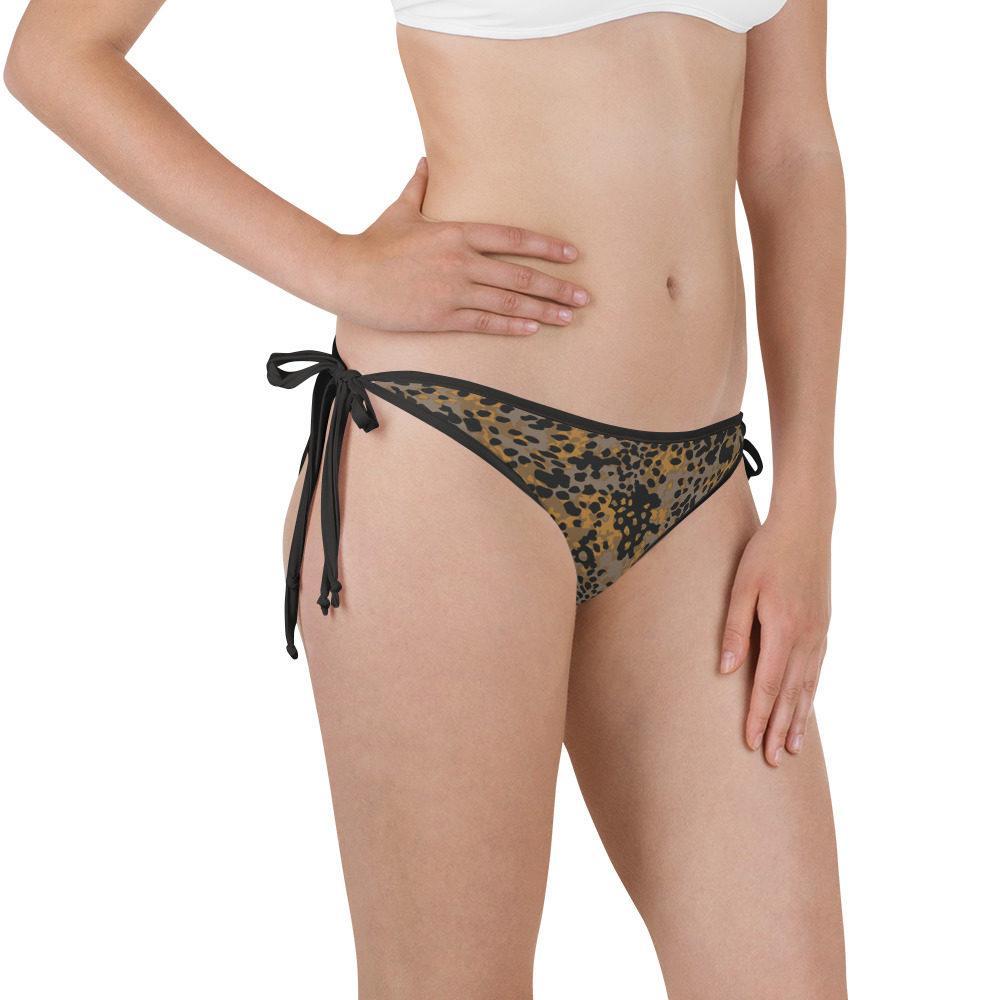 WWII Germany platanenmuster Fall Camouflage Bikini Bottom