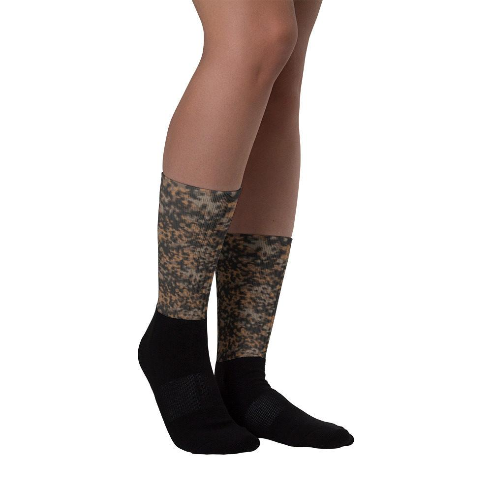 WWII Germany Rauchtarn fall Camouflage Socks