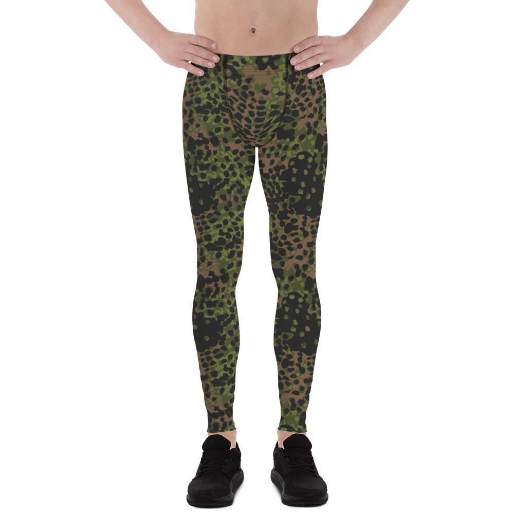 WWII Germany platanenmuster spring Camouflage Men's Leggings
