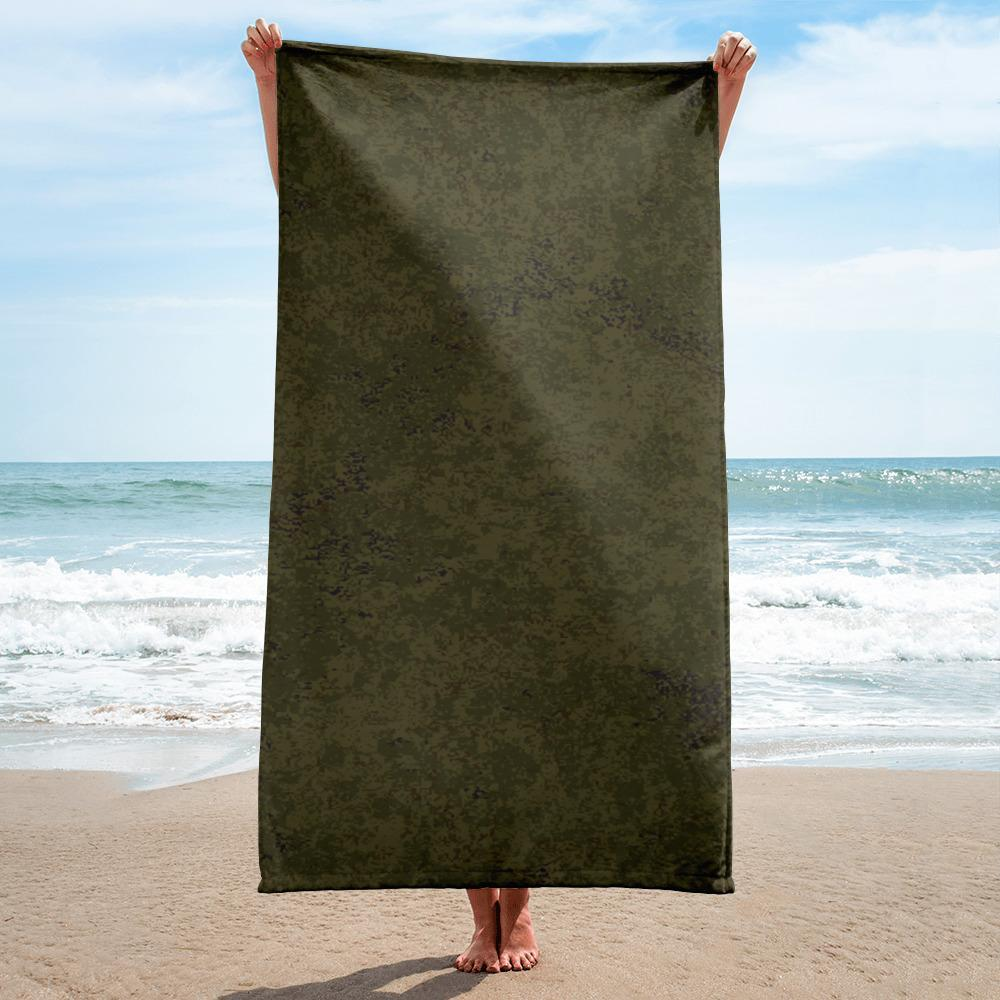 Russian 2008 EMR Digital Flora Lowland beach Towel
