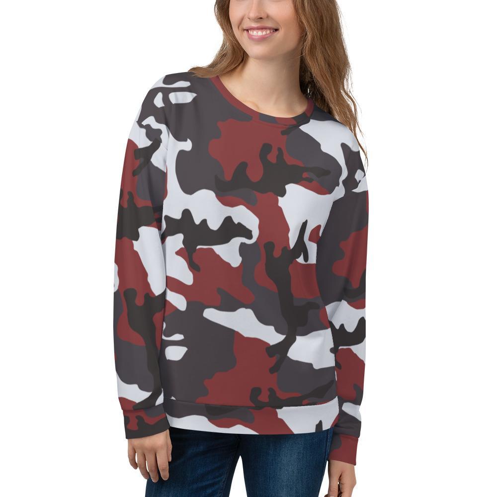 ERDL Red Camouflage Unisex Sweatshirt