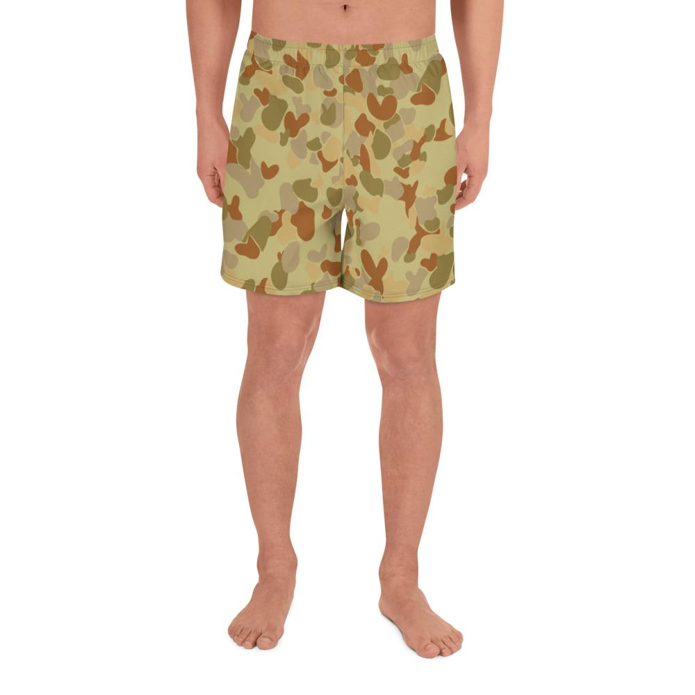 Australian AUSCAM DPMU MID-POINT Camouflage Men's Athletic Long Shorts