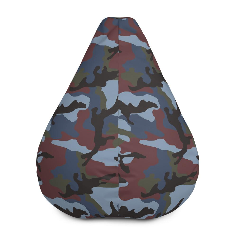 ERDL Streetfighter Camouflage Bean Bag Chair w/ filling