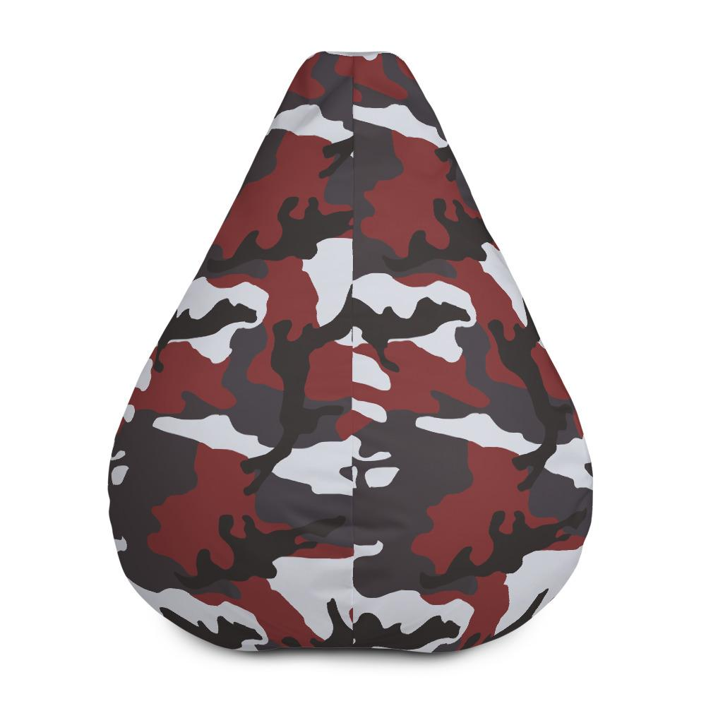 ERDL Red Camouflage Bean Bag Chair w/ filling