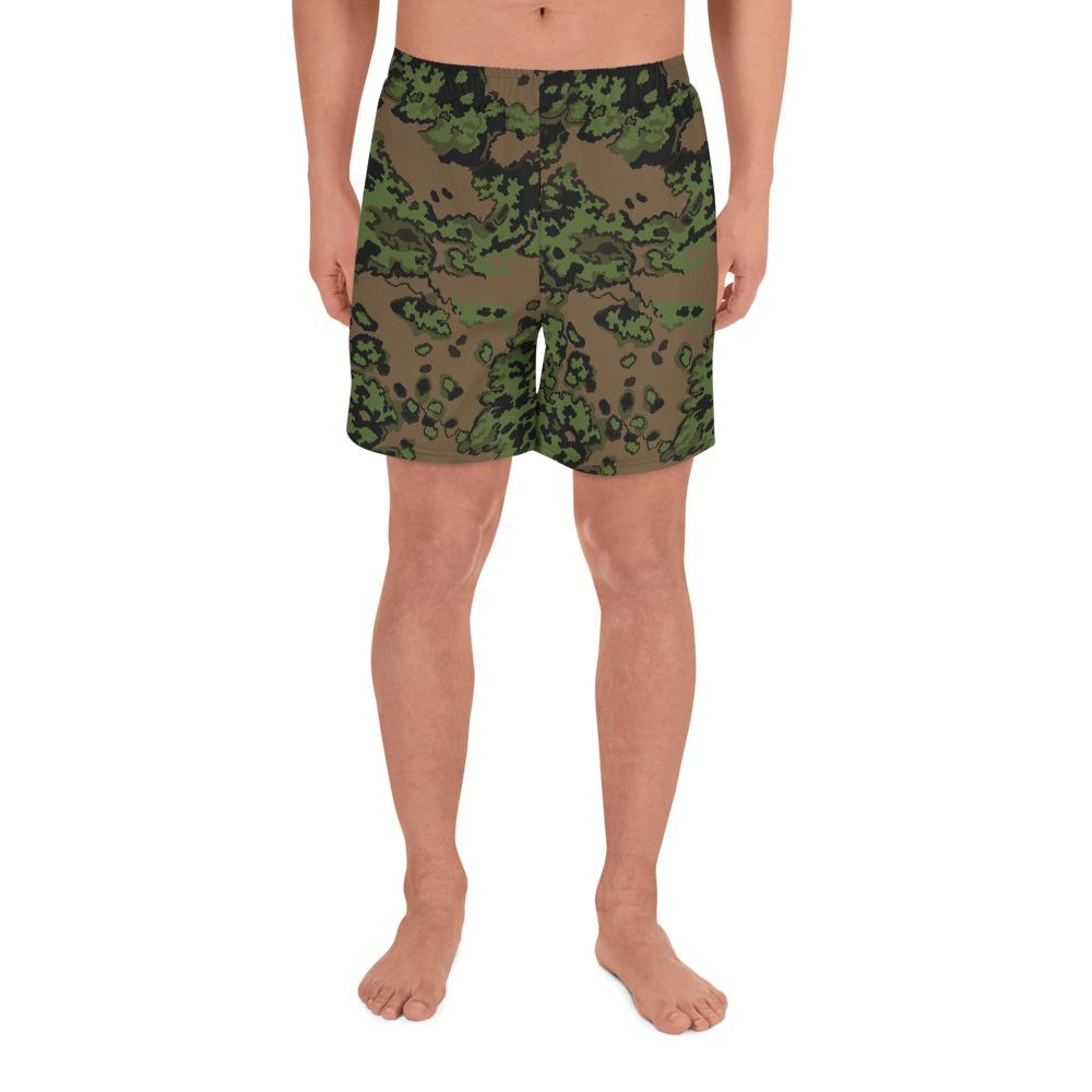 RUSSIAN 2004 VSR – MVD SS-LETO Fall Camouflage Men's Athletic Long Shorts