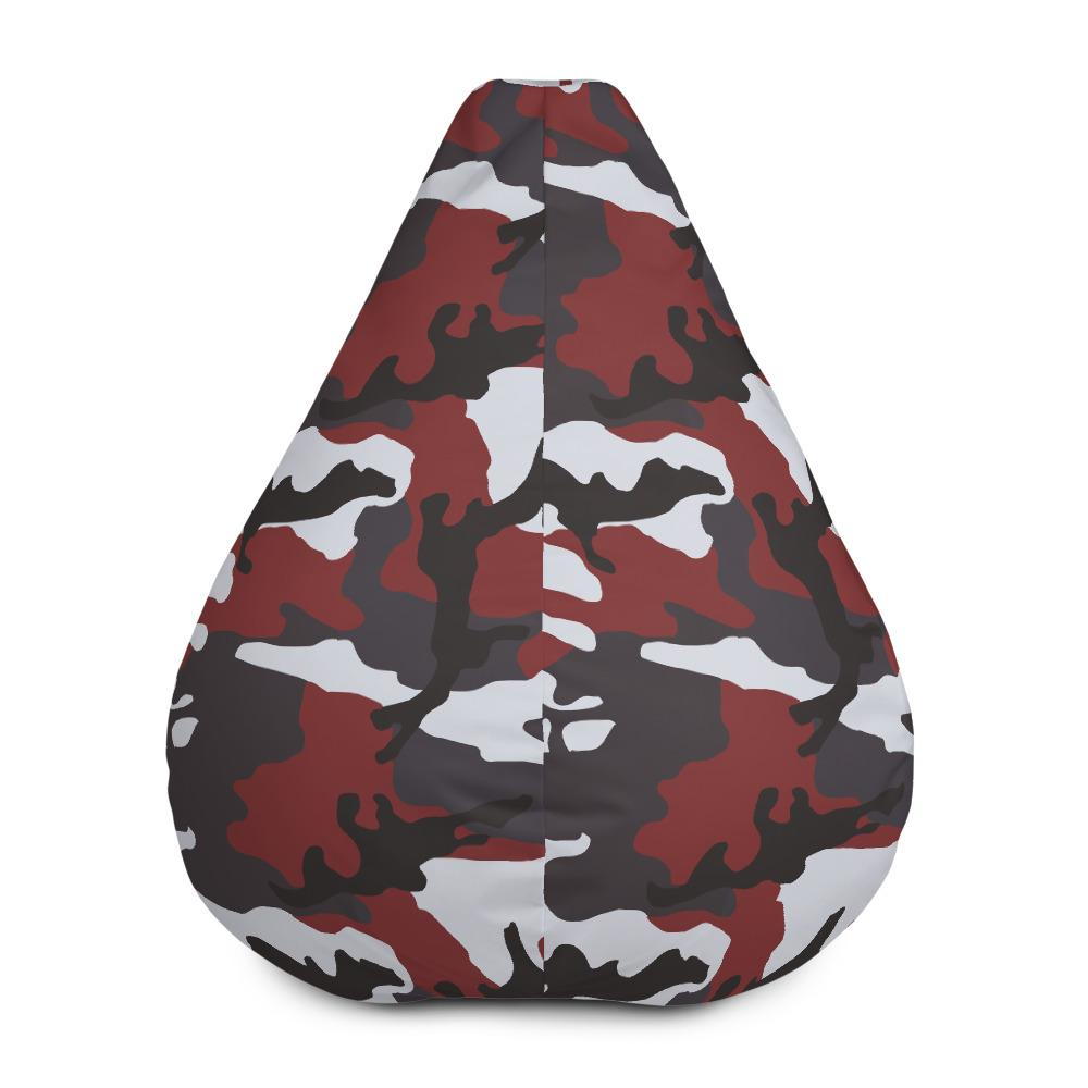 ERDL Red Camouflage Bean Bag Chair Cover