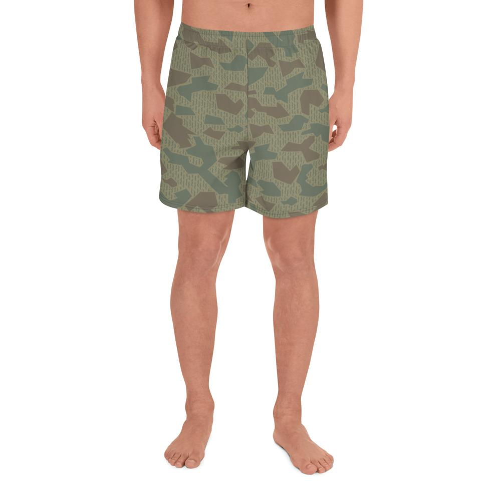 Bulgarian 1979 splinter Camouflage Men's Athletic Long Shorts