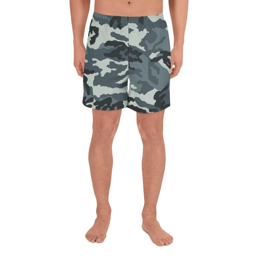 RUSSIAN 1992 MVD – GRU SPETZNAZ Urban Gorod Camouflage Men's Athletic Long Shorts