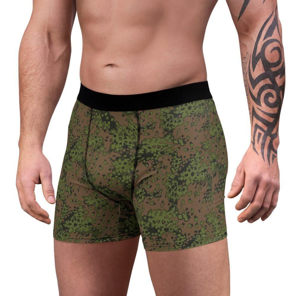 Eichenlaub spring camouflage Men's Boxer Briefs