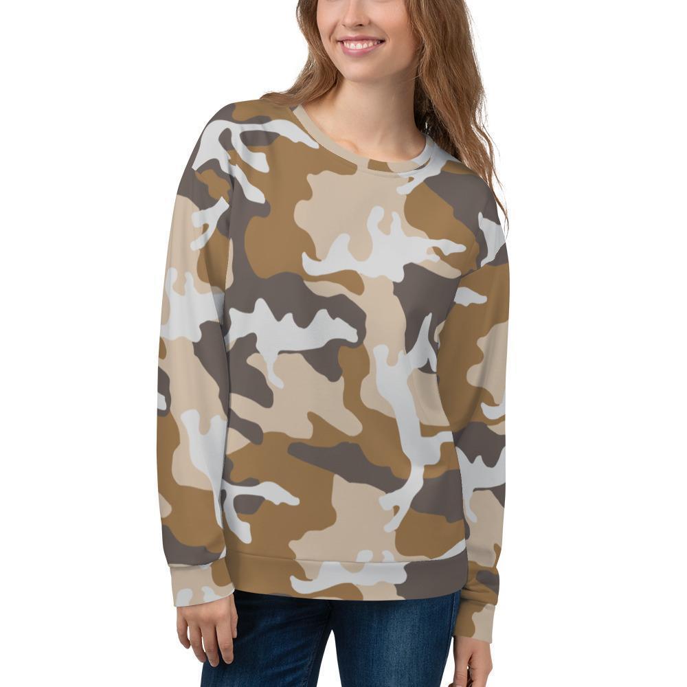 ERDL USMC Desert Camouflage Unisex Sweatshirt