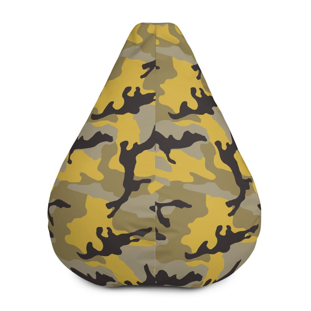 ERDL Yellow Stinger Camouflage Bean Bag Chair w/ filling