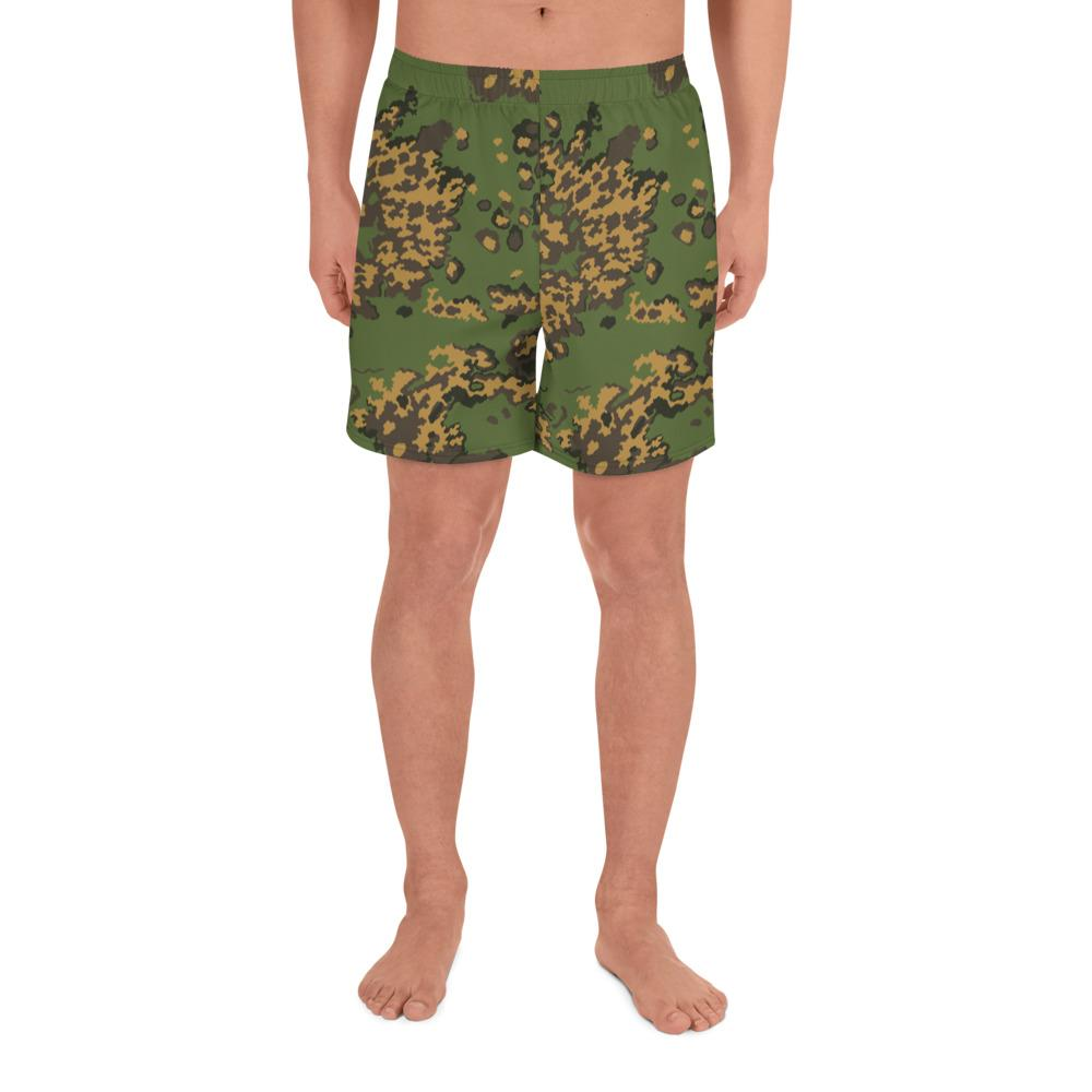RUSSIAN 2004 VSR – MVD SS-LETO Summer Camouflage Men's Athletic Long Shorts