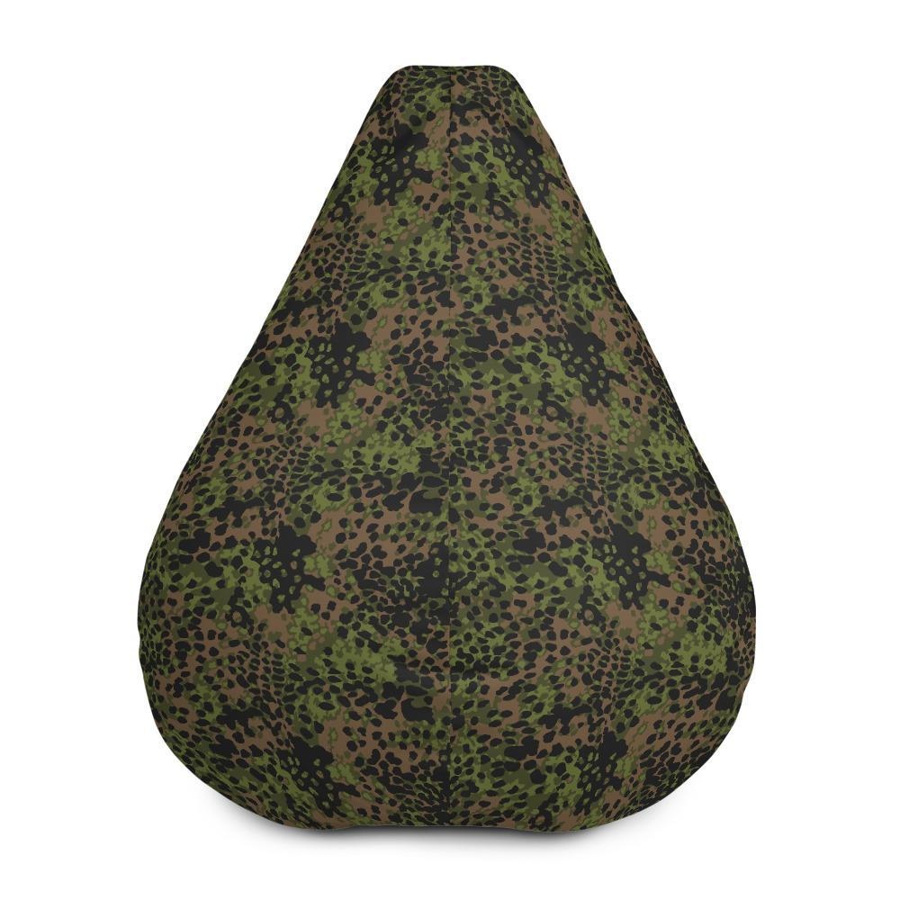 WWII Germany platanenmuster spring Camouflage Bean Bag Chair w/ filling