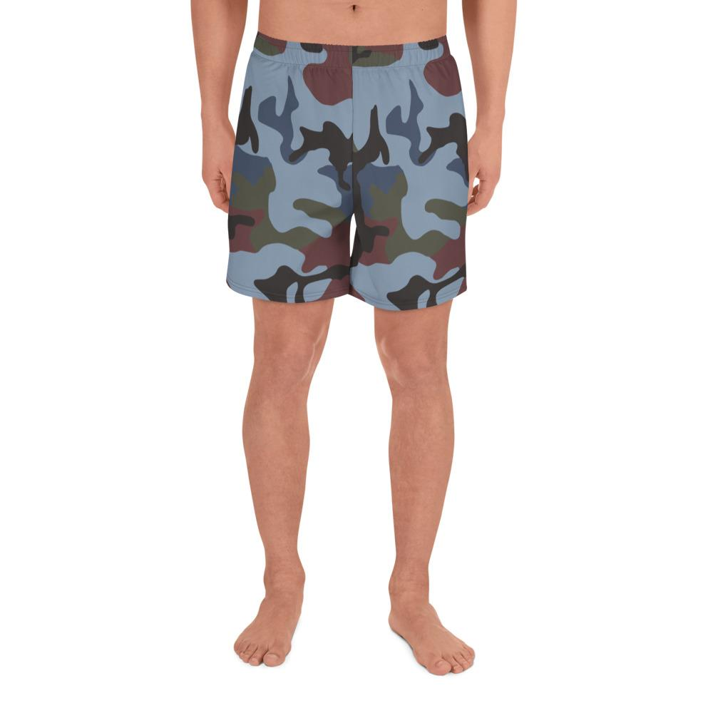 ERDL Streetfighter Camouflage Men's Athletic Long Shorts