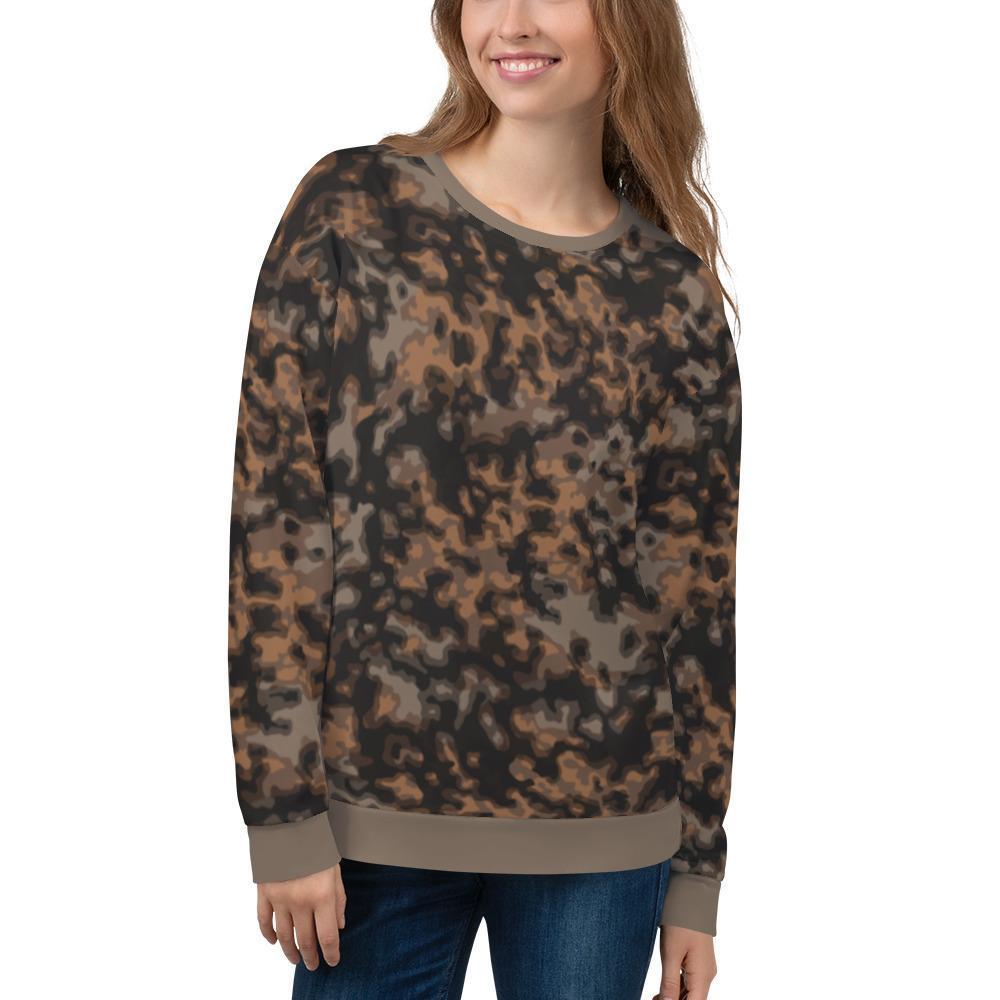 WWII Germany Rauchtarn fall Camouflage Unisex Sweatshirt