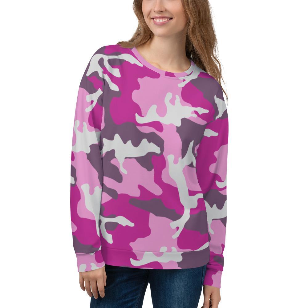 ERDL Pink Camouflage Unisex Sweatshirt