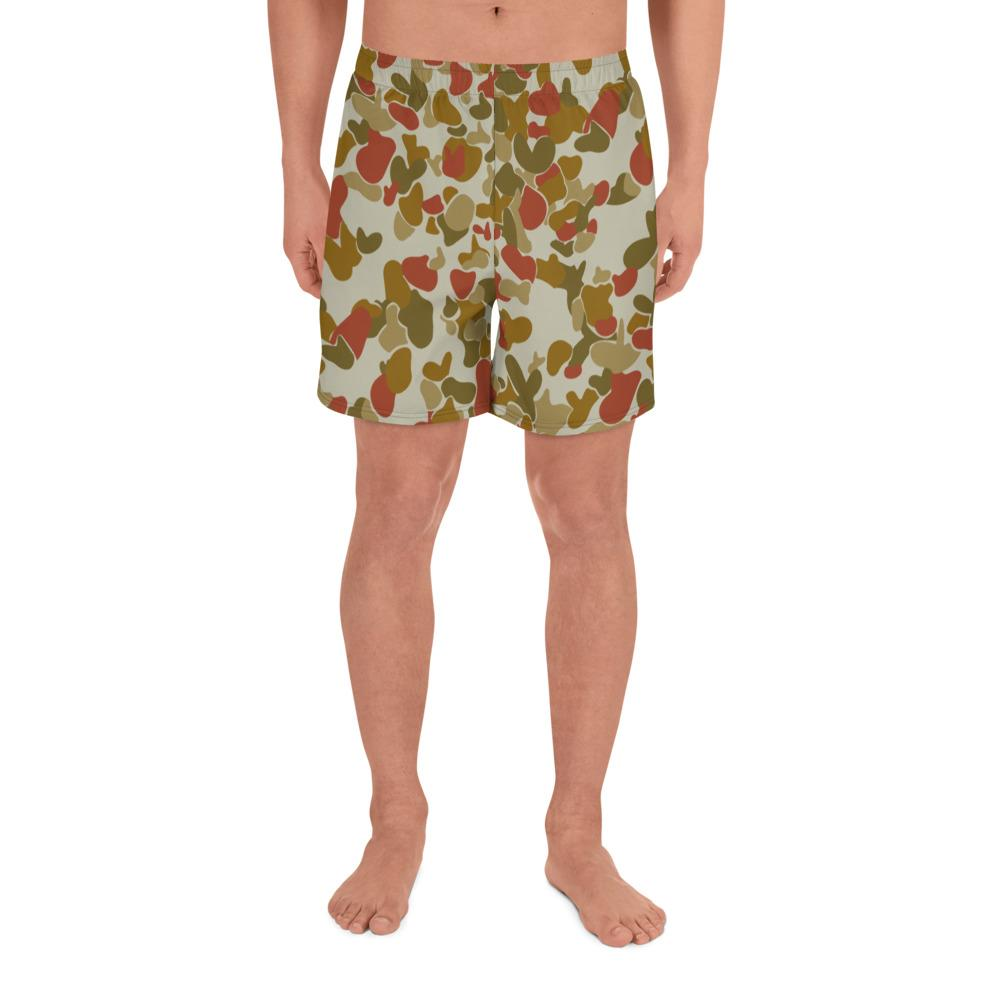 Australian Red AUSCAM Musoria OPFOR DCP Camouflage Men's Athletic Long Shorts