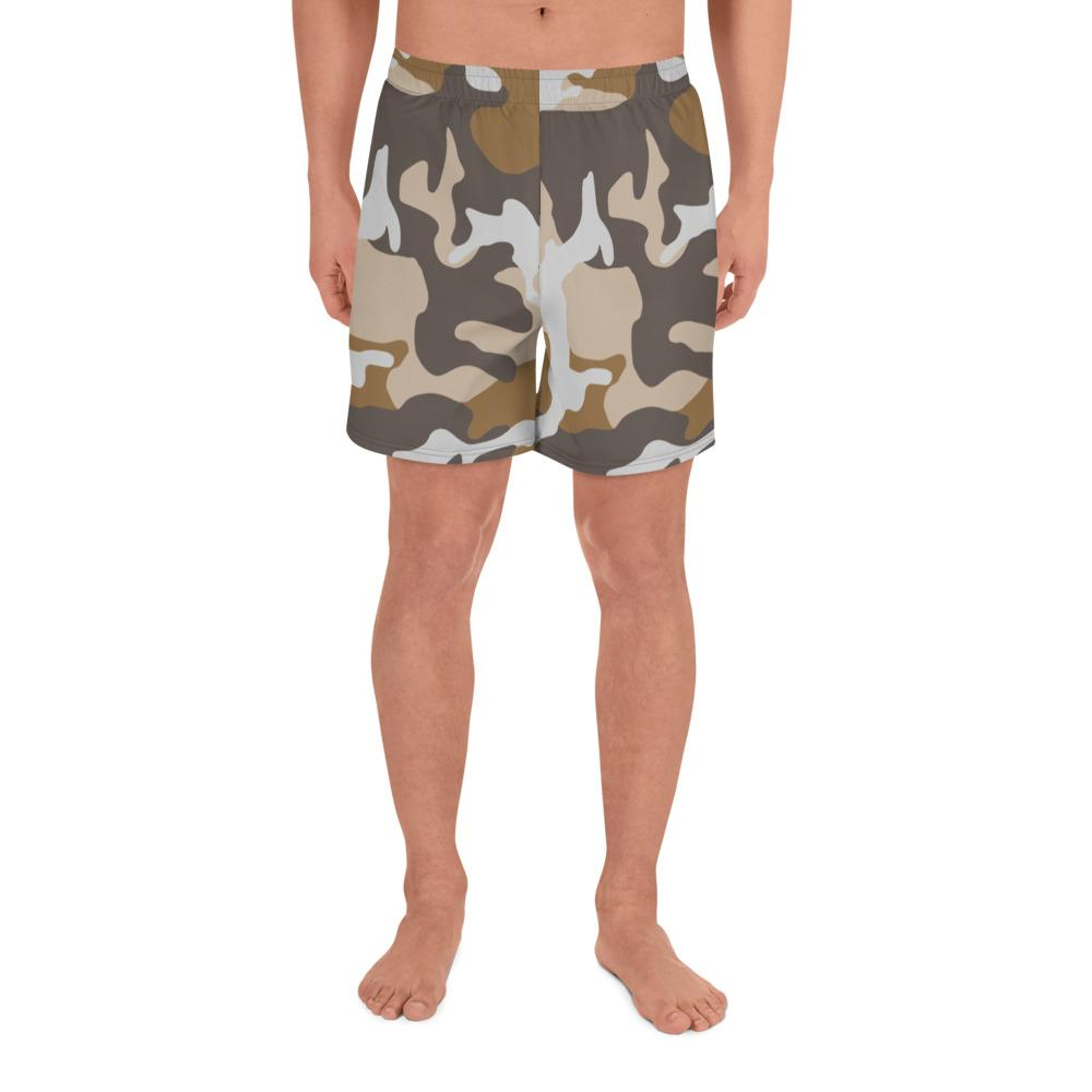 ERDL USMC Desert Camouflage Men's Athletic Long Shorts
