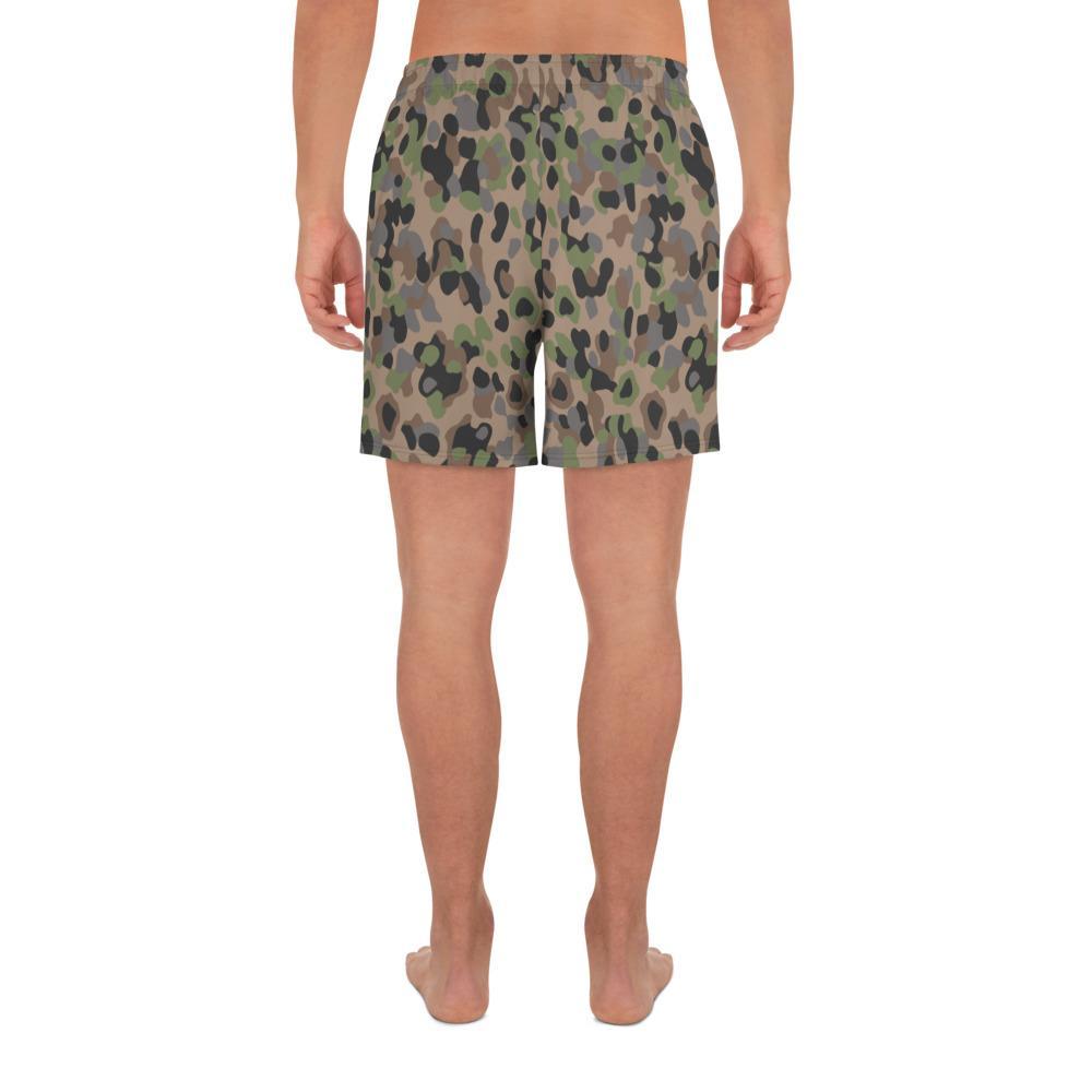 Austrian Kampfanzug 57-59 Camouflage Men's Athletic Long Shorts