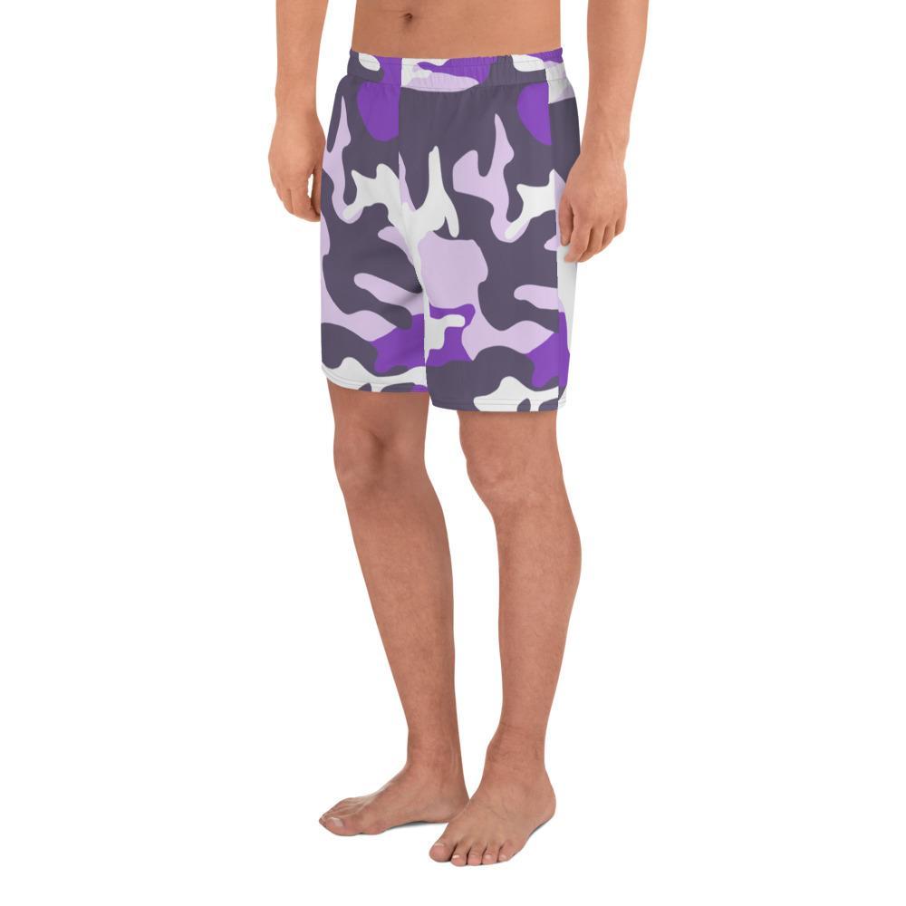 ERDL Ultraviolet Camouflage Men's Athletic Long Shorts