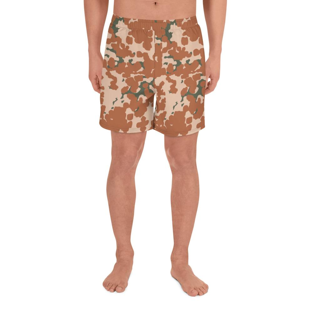 Danish M84 Desert pattern Camouflage en's Athletic Long Shorts